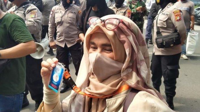 Datang ke Sidang Habib Rizieq, Neno Warisman : Saya Meliput
