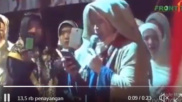 Fahri Hamzah Puji Puisi Neno Warisman di Munajat 212, Budiman Sudjatmiko : Kita Lawan !