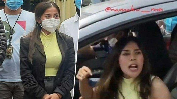 Minta Maaf, Wanita yang Ngamuk di Pos Penyekatan Cilegon Beri Pengakuan, Ternyata Bukan Mau Melayat