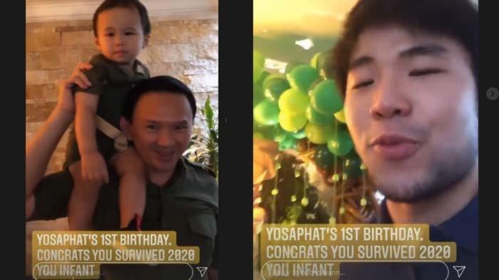 Nicholas Sean beri ucapan selamat ulang tahun untuk sang adik, Yosafat