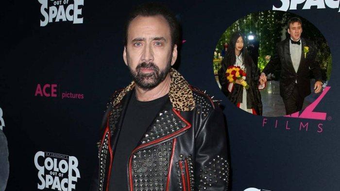 Nikah Kelima Kali, Nicolas Cage Peristri Gadis Jepang Beda Usia 30 Tahun