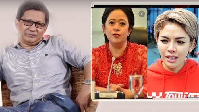 Nikita Mirzani 'Diserang' Pendukung Puan Maharani, Rocky Gerung Bela Nyai : Dia Ketua Dewan Netizen