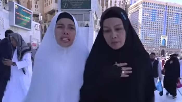 Nikita Mirzani Berdoa Ini saat Umrah, Fitri Salhuteru Kaget Elus Dada: Doanya Serem, Astaghfirullah
