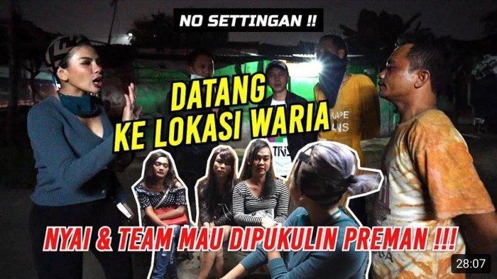 Datang ke Lokasi Waria, Nikita Mirzani dan Tim Hampir Dipukuli Preman, Nyai: Jujur Gw Tegang Banget