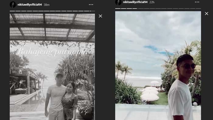 Nikita Willy bulan madu bareng Indra Priawan di Bali sebelum ke Antartika (kolase Instagram @nikitawilly_94)