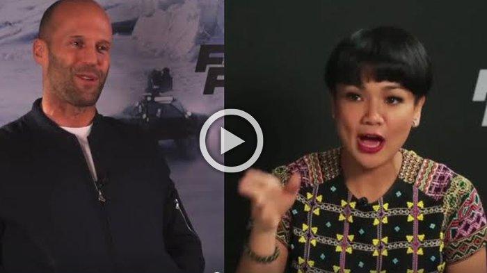 Keren ! Nirina Zubir Wawancarai Pemain Film Fast & Furious 8, Mereka Malah Mengobrol Tentang Ini