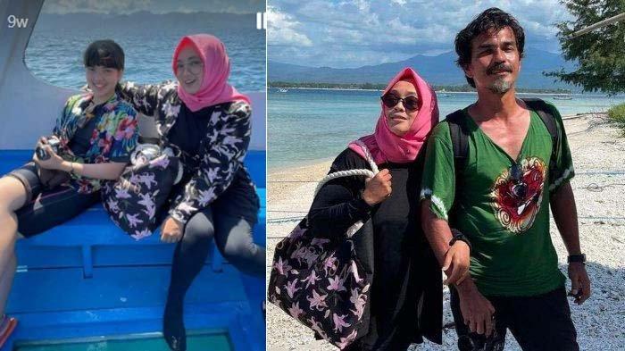 Curhat Pilu Teddy Syach di Pusara Rina Gunawan, Sang Putri Unggah Kenangan Terakhir Bersama Ibunda