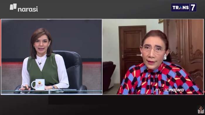 Susi Bereaksi Tegas saat Ditanya Mau Jadi Menteri Lagi, Najwa Shihab Beri Komentar ini