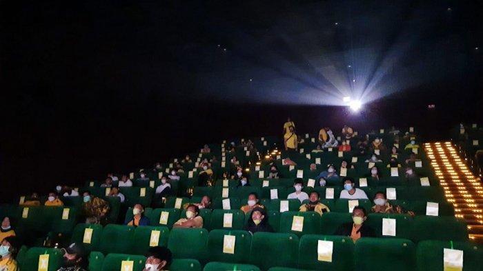 Dukung Industri Film Ditengah Pandemi, Kader Golkar Kota Bogor Ajak Milenial Nobar