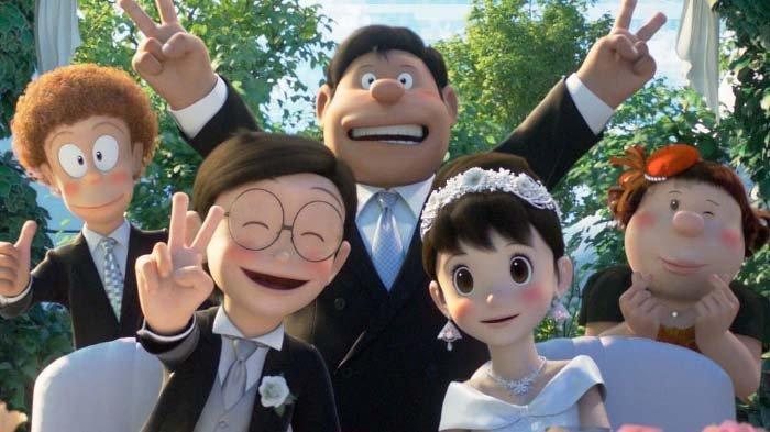 Nobita Menikah dengan Shizuka Jadi Trending, Penonton Terharu Lihat Film Stand By Me 2 Doraemon