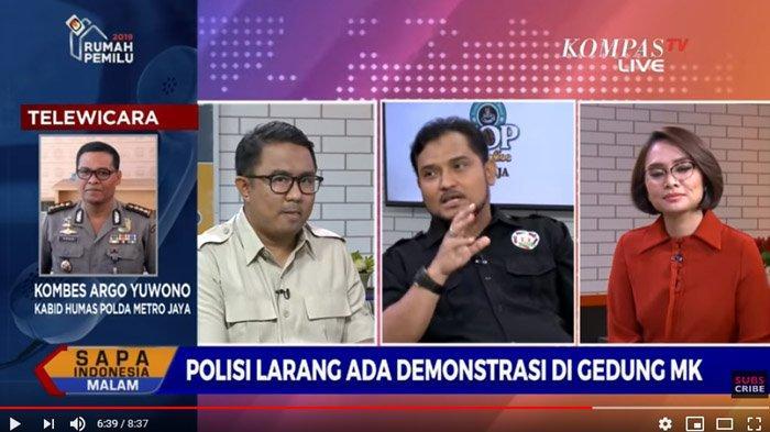 Pengakuan Novel Bamukmin soal Izin Unjuk Rasa di MK Dipatahkan Polisi, Jubir BPN Peringatkan PA212