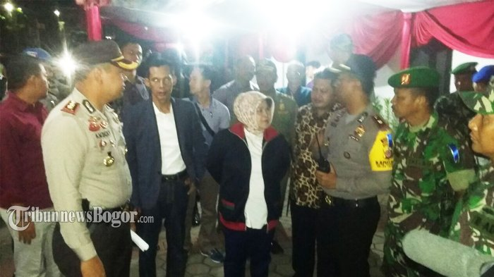 Pantau Ibadah Malam Natal, Nuryahanti Kunjungi Beberapa Gereja di Kabupaten Bogor