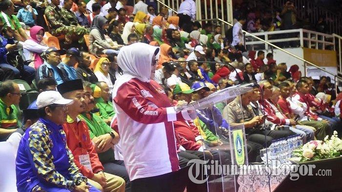 Kabupaten Bogor Jadi Juara Umum Porda Jabar 2018, Nurhayanti : Alhamdulillah