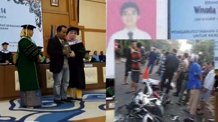 Tewas Kecelakaan saat Akan Wisuda, Mahasiswa UIN Jakarta Sempat Beri Pesan Terakhir kepada Sahabat