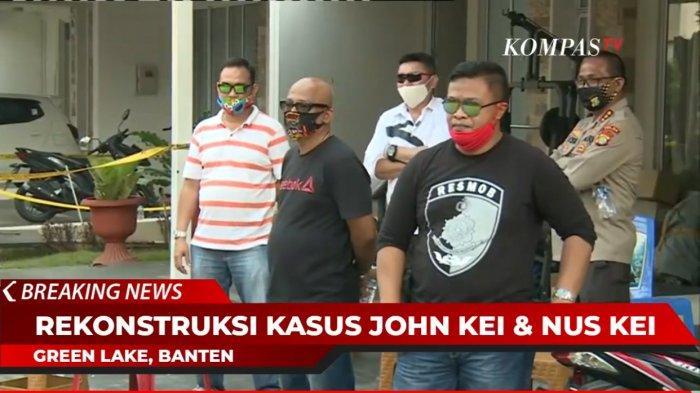 Nus Kei Saksikan Rekonstruksi Penyerangan yang Dilakukan Anak Buah John Kei di Rumahnya