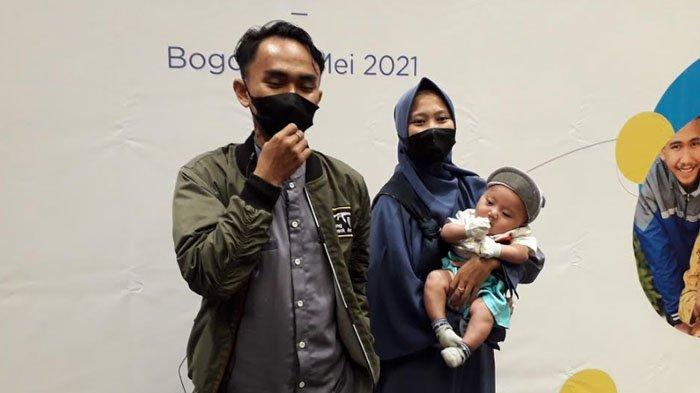 Anak Terlahir Dalam Kondisi Bibir Sumbing, Ojol Asal Jonggol Bersyukur Bisa Operasi Secara Gratis