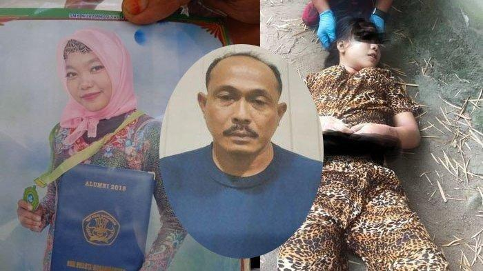 Oknum polisi Polres Belawan Aipda Roni Saputra menjadi tersangka kasus pembunuhan dua gadis muda, Aprilia Cinta (13) dan Rizka Fitria (21) di Medan.