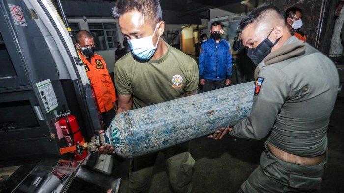 Darurat Covid, Kota Bogor dapat Bantuan 100 Tabung Oksigen untuk Rumah Sakit