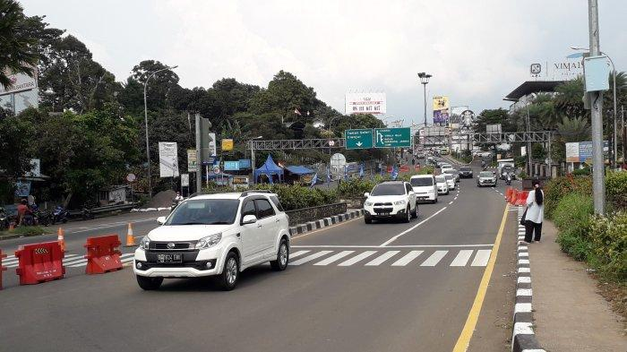77 Ribu Kendaraan dari Jakarta Serbu Kawasan Puncak Bogor Pada Akhir Pekan Ini