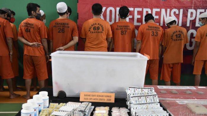 Operasi Antik Lodaya 2020, Polres Bogor Ungkap Pengendali Peredaran Sabu Dari Dalam Lapas Paledang