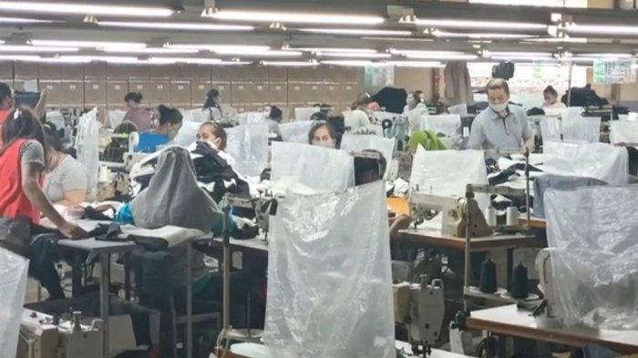Langgar PPKM Darurat,  2 Pabrik Garmen di Gunungsindur Bogor Terancam Denda Hingga Rp 50 Juta