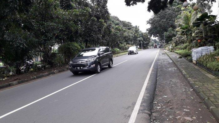 Kondisi Lalu Lintas di Jalan Raya Pajajaran Bogor Selasa 25 Februari 2020