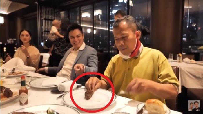 Paula Syok Lihat Cara Pak Slamet Makan di Restoran, Ipar Baim Wong Ikut Menegur : Pakai Tangan Pak ?
