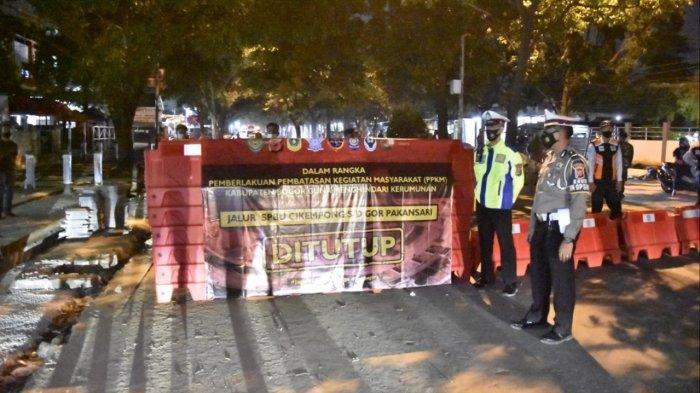 Ruas Jalan ke Stadion Pakansari Cibinong Ditutup Mulai Pukul 19.00 WIB Hingga 05.00 WIB