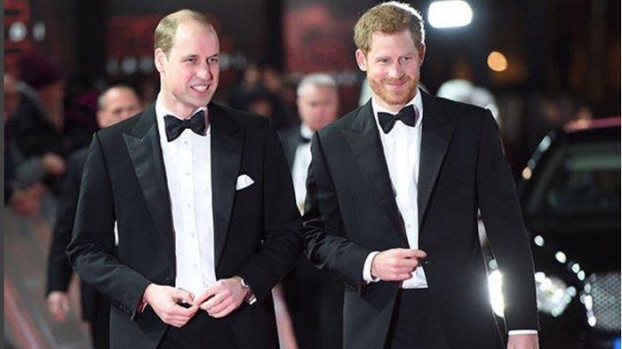 Inggris Lolos 8 Besar, Pangeran William dan Pangeran Harry Dilarang Nonton ke Rusia, Ini Sebabnya !