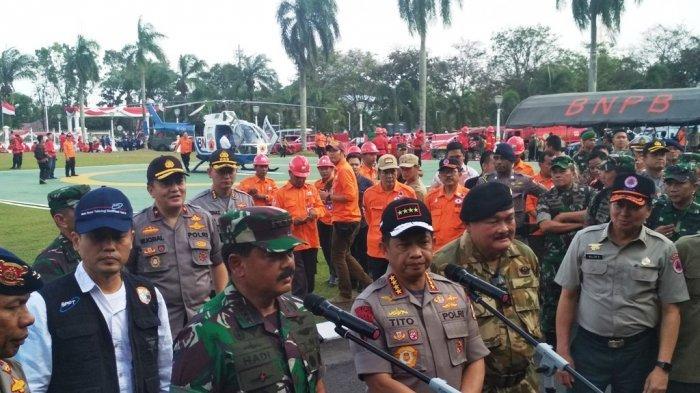 Asian Games 2018, Aparat TNI Polri Disebar ke 55 Desa Antisipasi Kebakaran Hutan di Sumatera Selatan