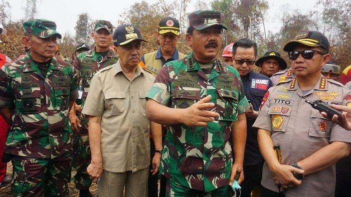 Pantau Titik Api di Riau, TNI Akan Gunakan Drone untuk Patroli di Malam Hari