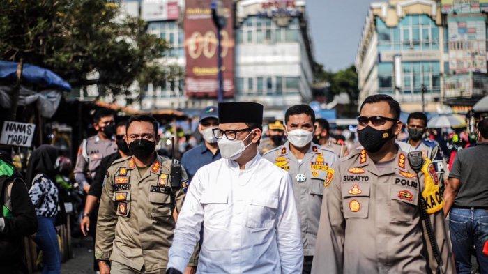 Bima Arya dan Kapolresta Bogor Kota Pantau Penerapan Prokes di Pusat Perbelanjaan