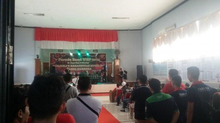 Warga Binaan se-Bogor Raya dan Cikarang Ikut Parade Band di Lapas Paledang Bogor