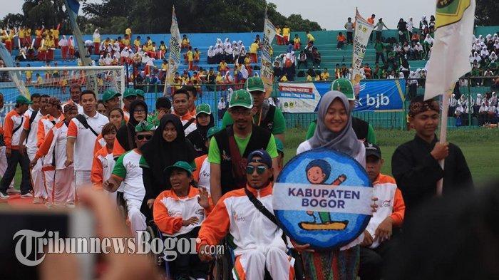 Peparda V Jabar 2018 Resmi Ditutup, Kontingen Kabupaten Bogor Raih Medali Emas Terbanyak