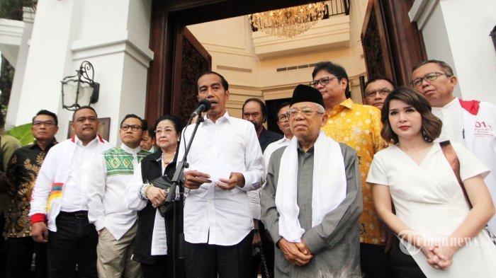 Lupa Sapa Maruf Amin, Jokowi: Mohon Maaf Pak Wapres Hampir Kelupaan