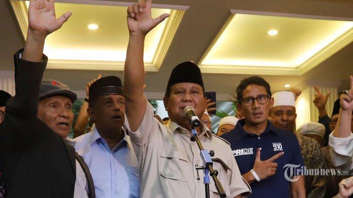 Pakar Bahasa Tubuh Baca Ekspresi Sandiaga Uno Ketika Prabowo Deklarasi Kemenangan, Ini Hasilnya