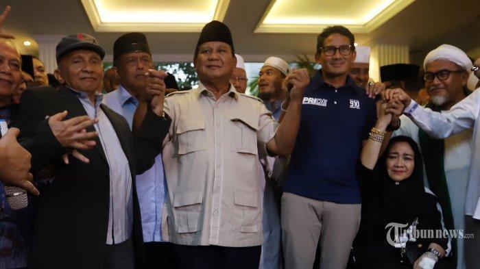 Koalisi Adil Makmur dan BPN Resmi Dibubarkan Hari Ini, Prabowo Minta Maaf