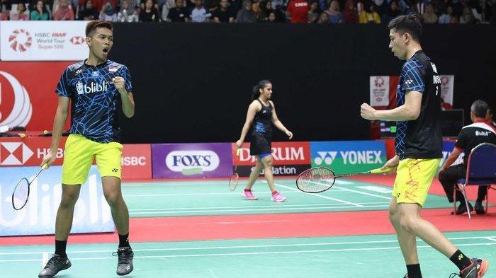 Rekap Indonesia Masters 2020, Fajar/Rian Lanjut ke Babak Perempat Final