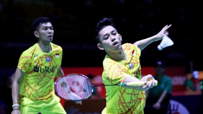 Singkirkan Kevin/Marcus di Malaysia Open 2019, Fajar/Rian Melenggang ke Semifinal