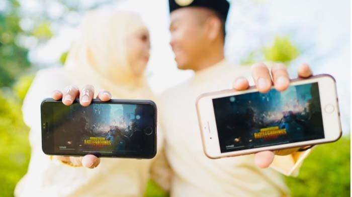 Berjodoh karena PUBG, Tentara Ini Pinang Polisi dengan Mas Kawin PS4, Begini Kisah Cinta Mereka!