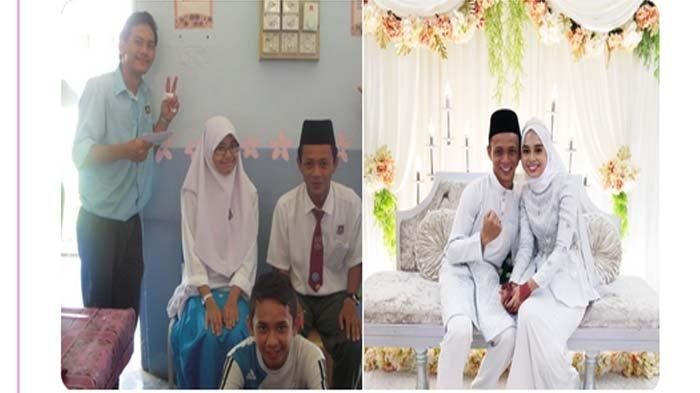 Viral Dulu Dipaksa Nikah Bohongan, 10 Tahun Kemudian Pasangan Ini Nikah Beneran, Begini Kisahnya !