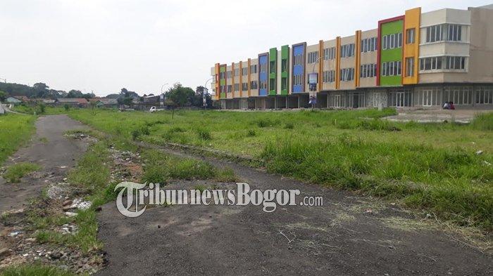 Jauh Dari Keramaian, Ruko Pasar Bersih di BNR Bogor Belum Banyak Diminati