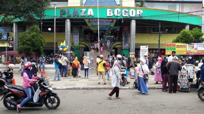 Abaikan PSBB, Warga Padati Pusat Perbelanjaan di Kota Bogor, Begini Penampakannya
