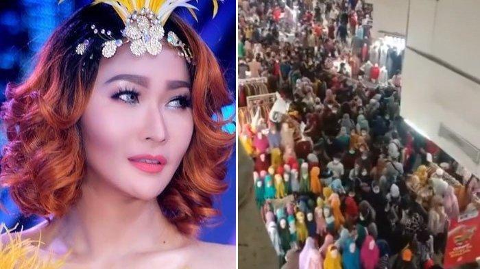 Nangis Lihat Kerumunan Pasar Tanah Abang, Inul Terdiam Baca Komentar Sandhy Sondoro : Aku Gak Berani