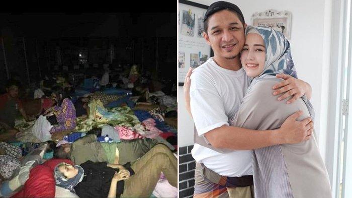 Selamat dari Gempa di Palu, Pasha Ungu dan Istri Tidur di Tenda Pengungsian Bersama Warga