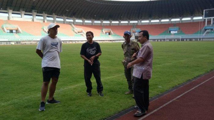 PASI Kabupaten Bogor Meninjau Langsung Persiapan Atlet Binaannya Jelang Popda 2021