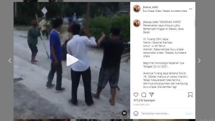 Pria Positif Covid-19 Disiksa Warga Kampung, Polisi Usut Pelakunya
