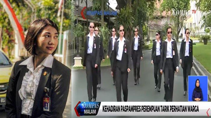 Tak Hanya Serda Ambar, Ini Sederet Paspampres Cantik yang Ketangguhannya Diakui Presiden Jokowi