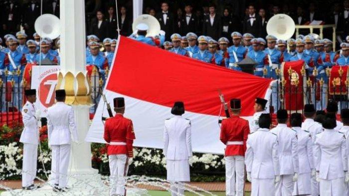 Live Streaming Upacara Pengibaran Bendera HUT Kemerdekaan RI 17 Agustus 2019 dari Istana Negara