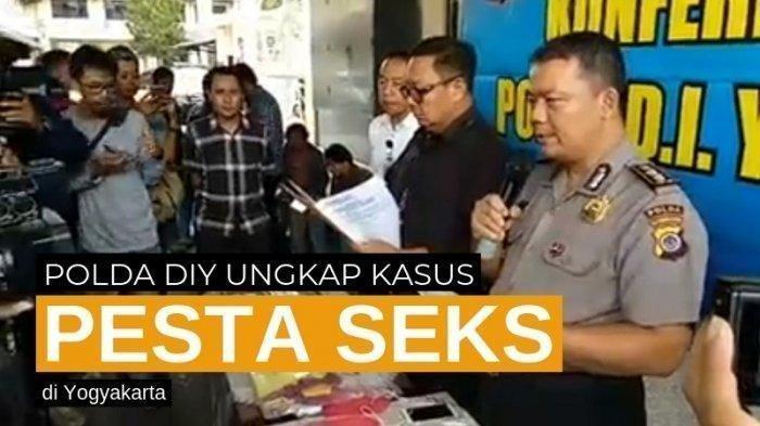 Pesta Seks 12 Orang Digerebek di Yogyakarta, Ditonton Ramai-Ramai Hingga Ada Pasutri